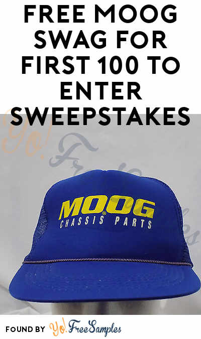 FREE MOOG Swag For First 100 To Enter Sweepstakes