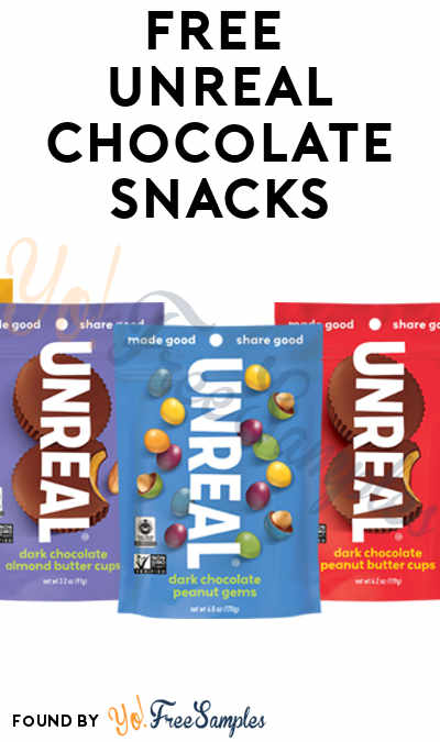 FREE UnReal Chocolate Snacks (Mom Ambassador Membership Required)