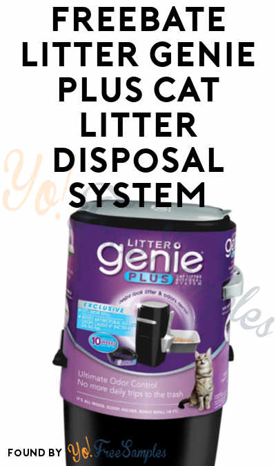 FREEBATE Litter Genie Plus Cat Litter Disposal System At Petco (Mail-In Rebate Required)