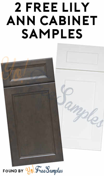 2 FREE Lily Ann Cabinet Samples