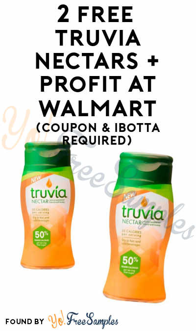 2 FREE Truvia Nectar + Profit At Walmart (Coupon & Ibotta Required)