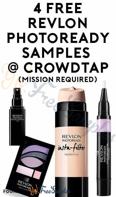 4 FREE Revlon PhotoReady Samples From CrowdTap (Mission Required)