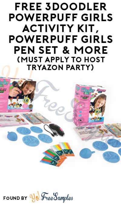 FREE 3Doodler Powerpuff Girls Activity Kit, Powerpuff Girls Pen Set & More (Must Apply To Host Tryazon Party)