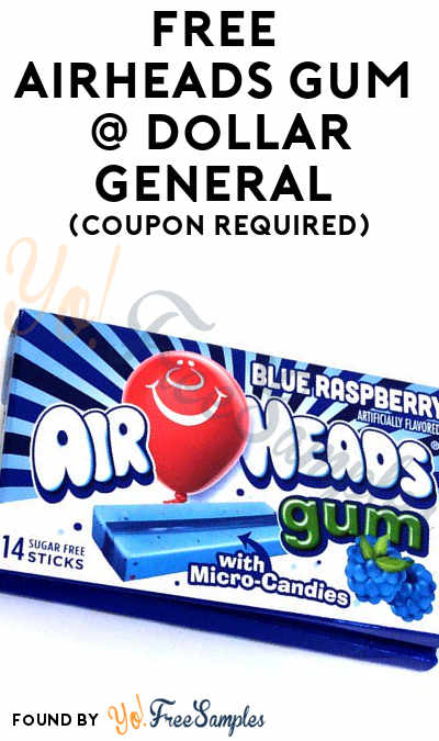 FREE Airheads Gum At Dollar General (Coupon Required)