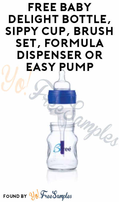 FREE Baby Delight Bottle, Sippy Cup, Brush Set, Formula Dispenser or Easy Pump From ViewPoints (Survey Required)