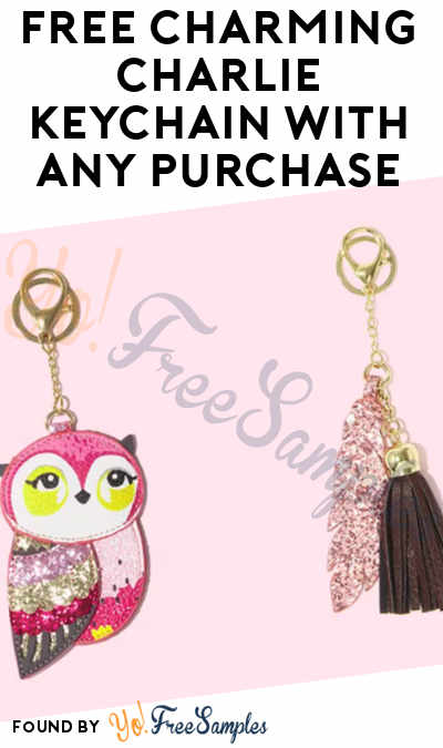 FREE Charming Charlie Keychain With Any Purchase On 10/21 (In-Store)