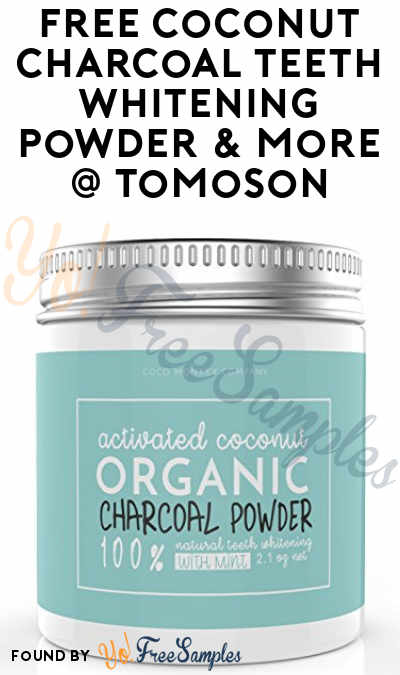 FREE Coconut Charcoal Teeth Whitening Powder & More In Exchange For Social Media Reviews From Tomoson (Sharing & Applying Required)