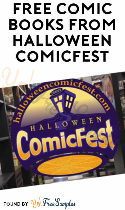 FREE Comic Books From Halloween ComicFest On 10/27