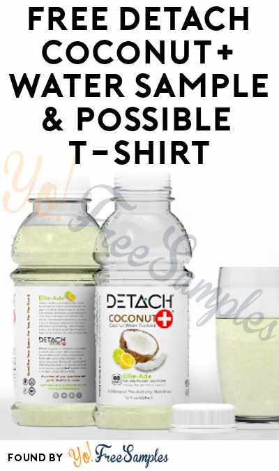 FREE Detach Coconut+ Water Sample (Email Confirmation Required)