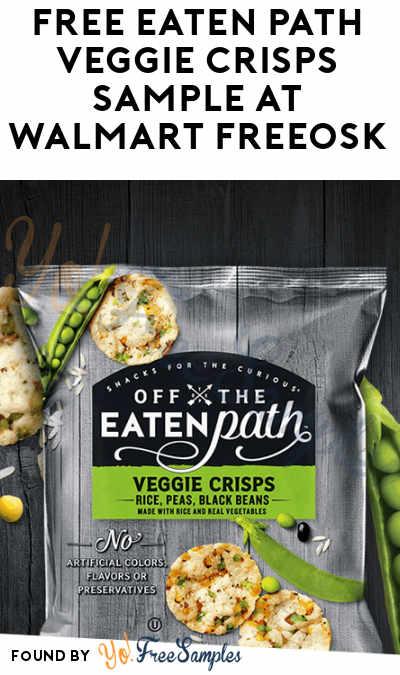 FREE Eaten Path Veggie Crisps Sample At Walmart Freeosk