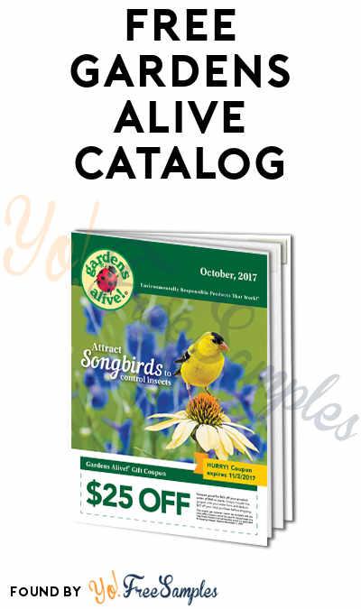 FREE Gardens Alive Catalog