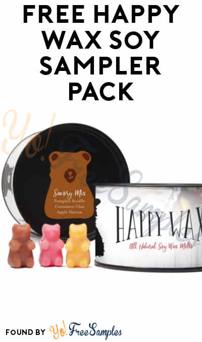 FREE Happy Wax Soy Sampler Pack