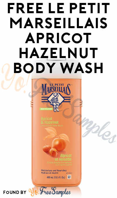 FREE Le Petit Marseillais Apricot Hazelnut Body Wash From Home Tester Club (Survey Required)