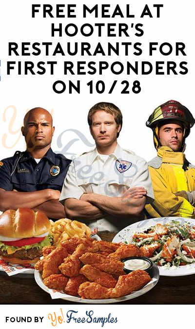 FREE Meal With Beverage Purchase At Hooter's Restaurants For First Responders On 10/28