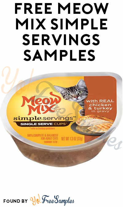 FREE Meow Mix Simple Servings Samples [Verified Received By Mail]