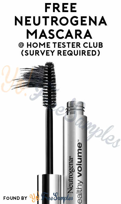 FREE Neutrogena Mascara From Home Tester Club (Survey Required)