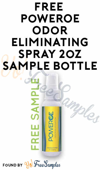 FREE PowerOE Odor Eliminating Spray Sample [Verified Received By Mail]
