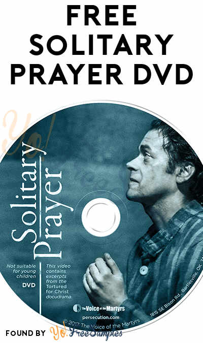 FREE Solitary Prayer DVD [Verified Received By Mail]