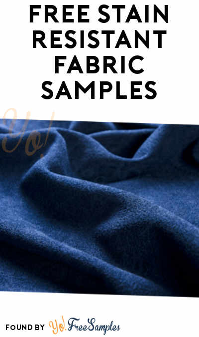 FREE Stain Resistant Fabric Samples