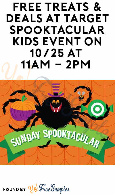 Fixed Date: FREE Treats & Deals At Target Spooktacular Kids Event On 10/28 At 11AM – 2PM