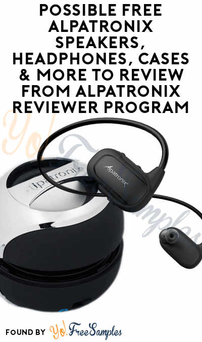 Possible FREE Alpatronix Speakers, Headphones, Cases & More To Review From Alpatronix Reviewer Program