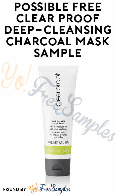 Possible FREE Clear Proof Deep-Cleansing Charcoal Mask Sample (Email Confirmation Required)