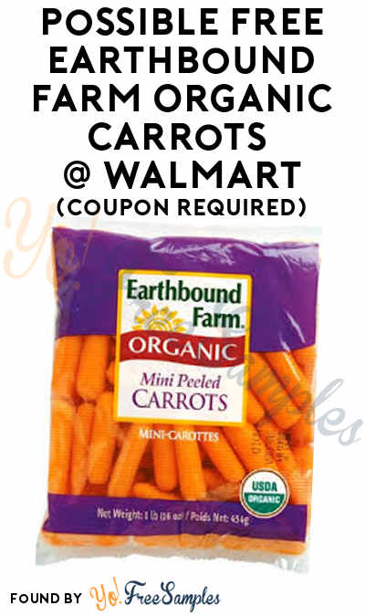Possible FREE Earthbound Farm Organic Carrots At Walmart (Coupon Required)