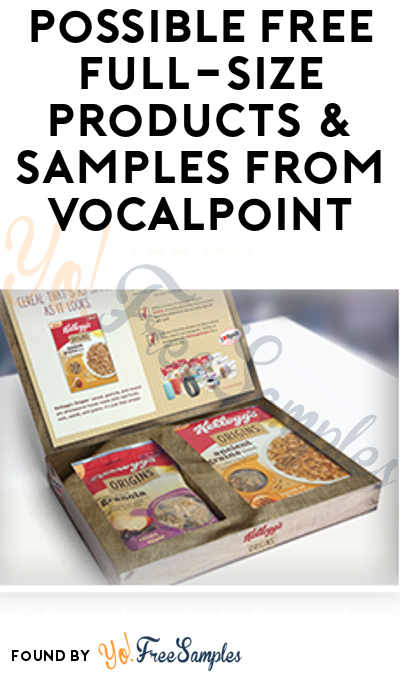 Possible FREE Full-Size Products & Samples From VocalPoint