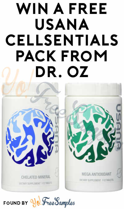 Win A FREE USANA CellSentials Pack From Dr  Oz - Yo! Free Samples