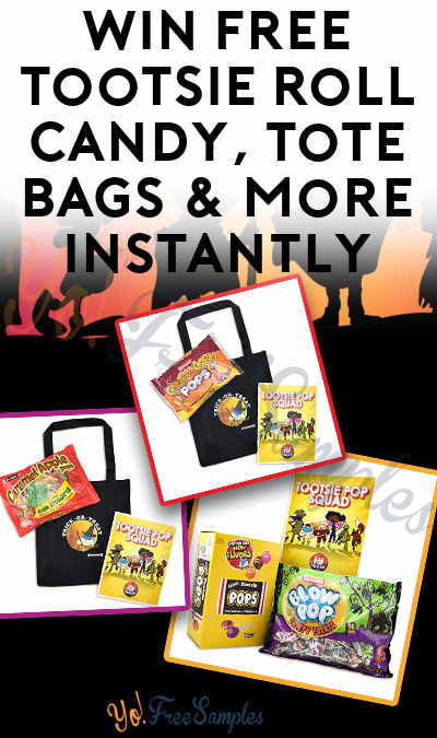 Win FREE Tootsie Roll Candy, Tote Bags & More Instantly