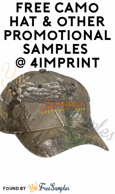 FREE Dri Duck Camo Cap, T-Shirts & Other Promotional Product Samples From 4Imprint (Company Name Required) [Verified Received By Mail]
