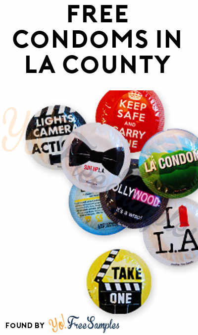 10 FREE Condoms For Los Angeles County Only