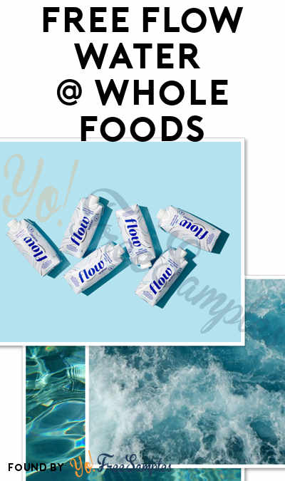 2 FREE Flow Water Bottles At Whole Foods