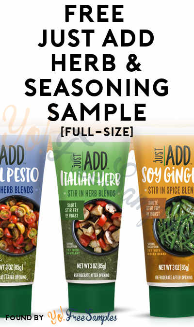 FREE Full-Size Just Add Fresh Herbs & Seasoning Sample