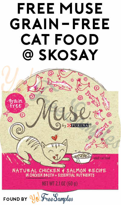 FREE Muse Grain-Free Cat Food Sample From Skosay's Simply Sample Program (Cell # Required) [Verified Received By Mail]