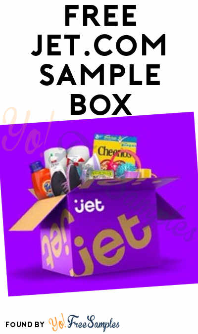 FREE Jet.com Sample Box From ViewPoints (Survey Required)