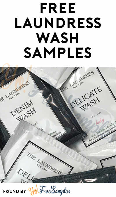 Back! FREE Laundress Denim Wash, Wool & Cashmere Shampoo, or Delicate Wash Sample [Verified Received By Mail]