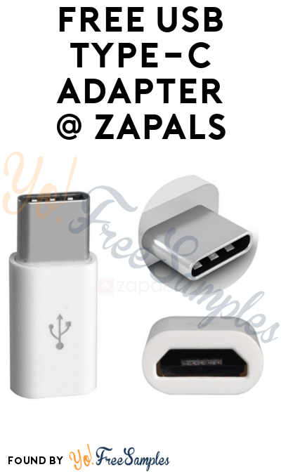 FREE USB 3.1 Type-C to Micro USB Adapter Converter From Zapals