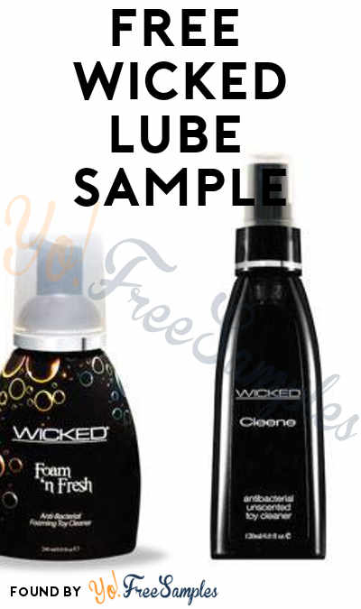 FREE Flavored Wicked Lubricant Samples (18+ Only)