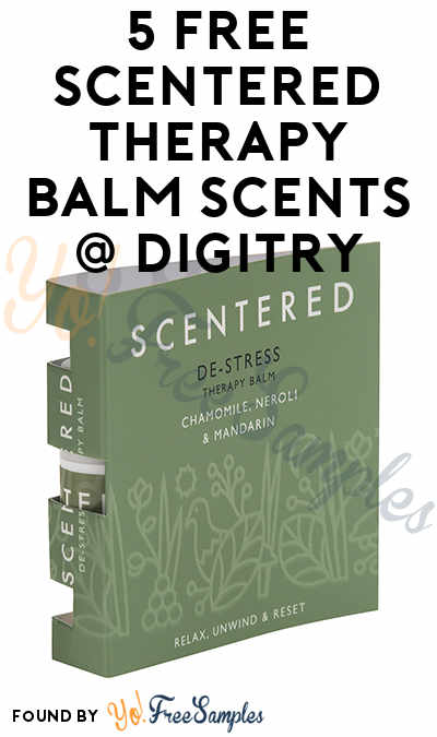 5 FREE Scentered Therapy Balm Scents To Review At Digitry (Survey Required)