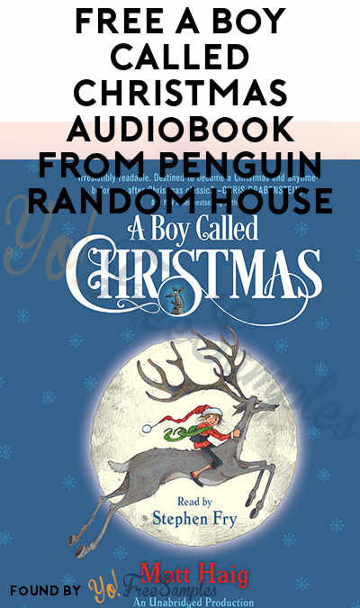 FREE A Boy Called Christmas Audiobook From Penguin Random House