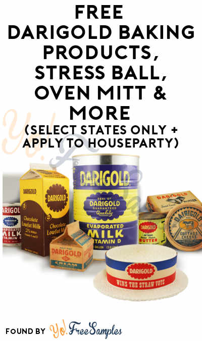 FREE Darigold Baking Products, Stress Ball, Oven Mitt & More (Select States Only + Apply To HouseParty)