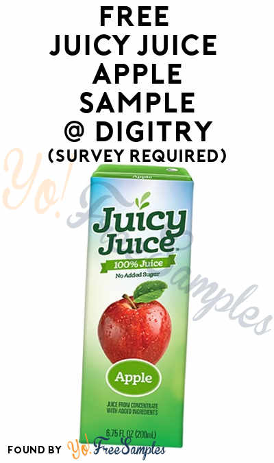 FREE Juicy Juice Apple Sample To Review At Digitry (Survey Required)