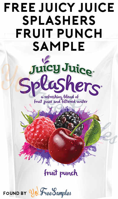 FREE Juicy Juice Splashers Fruit Punch Sample To Review At Digitry (Survey Required)