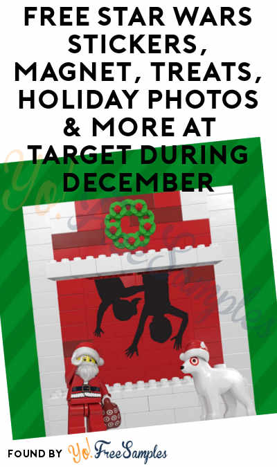 FREE Star Wars Stickers, Magnet, Treats, Holiday Photos & More At Target During December