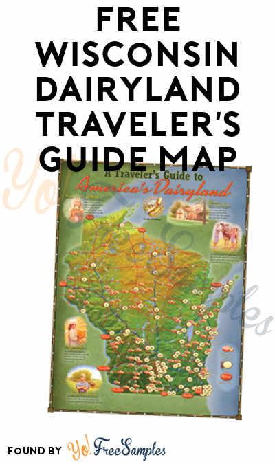 FREE Wisconsin Dairyland Traveler's Guide Map