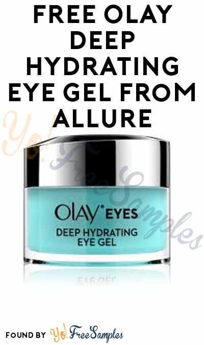 Goes Fast: FREE Olay Deep Hydrating Eye Gel From Allure