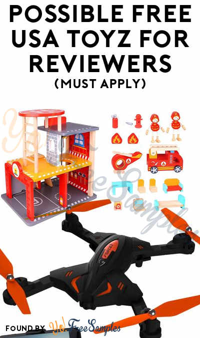 Possible FREE Drones, Toys & Other Products To Review For USA Toyz Reviewers (Must Apply)