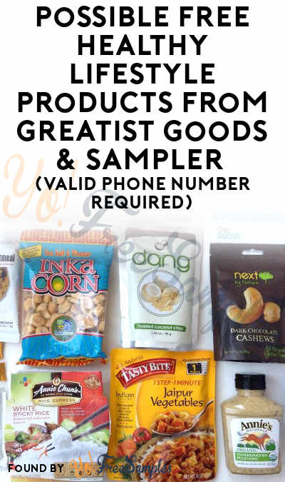Possible FREE Healthy Lifestyle Products From Greatist Goods & Sampler (Valid Phone Number Required) [Verified Received By Mail]