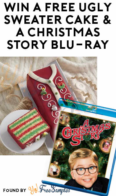 Win A FREE Ugly Sweater Cake & A Christmas Story Blu-Ray